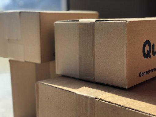 cierre cajas papel engomado